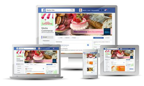 Cedsom Facebook pro commerces