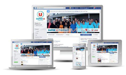 Cedsom Facebook pro supermarchés